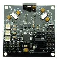KKmulticontroller V5.5 Controller Board V2.2 Program with Config: QuadCopter