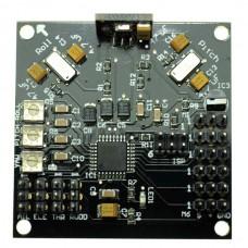 KKmulticontroller V5.5 Controller Board V2.2 Program with Config: QuadCopter