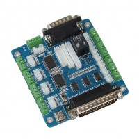 CNC 5 Axis Breakout Board for Stepper Motor Driver