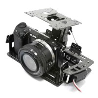 HeliBEST MCX3V5 Glass Fiber 2-Axis Camera Gimbal for Multicopter Aerial Photography MC6500Pro V5.0