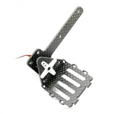 Airtechno Parts Micro Single Axis PTZ Multicopter FPV Carbon Fiber Camera Gimbal ATF016CF