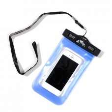 "Waterproof 20M Dry Diving Pouch Cover Case Bag For iPhone 5 4 4S 4.5"" Cellphone-Blue"