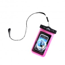 Outdoor Sport Swimming Beach Phone Camera 20M Waterproof Dry Bag Pouch Lens Protector-Pink