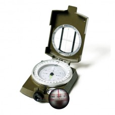 Classic Military Green Pocket Marching Lensatic Compass for Camping Hiking Outdoor Activity