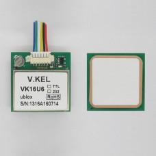 VK16U6 Ublox GPS Module with Antenna TTL Signal Output FZ0517