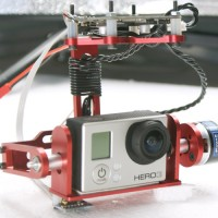 Aluminium Brushless Camera Gimbal for GoPro 3 FPV Aerial Photography for Multicopter