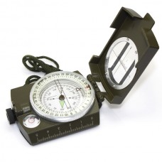 High Quality Pocket Military Army Geology Metal Compass Military Green Color