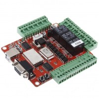 USBCNCV4.0X Stepper Motor Driver Mach3 USB Interface Board Adapter USBCNC Breakout Board