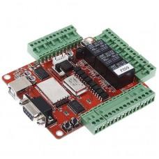 USBCNCV4.0X Stepper Motor Driver Mach3 USB Interface Board Adapter USBCNC Breakout Board