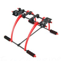 FPV Anti Vibration Multifunction Landing Skid DJI F450 F550 Quadcopter Hexacopter Red