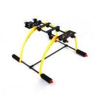FPV Anti Vibration Multifunction Landing Skid DJI F450 F550 Quadcopter Hexacopter Yellow