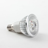 E14 3W 5W LED Spot Light Bulbs Lamp White/Warm White AC85-265V 270lm 6000K