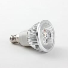 E14 3W 5W LED Spot Light Bulbs Lamp White/Warm White AC85-265V 270lm 6000K