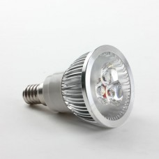 E14 3W LED Spot Light Bulbs Lamp Warm White LED Light AC85-265V 270lm 4000k
