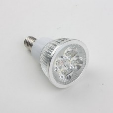 E14 4W LED Spot Light Bulbs Lamp Cool White LED Light AC85-265V 360lm