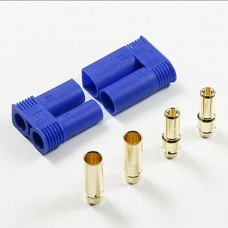 EC5 5MM Bullet Connectors Plugs Male / Female Pair with Split Head Male Bullets