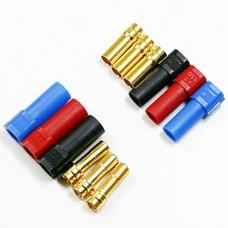 6X XT150 6.0mm 150Amp Golden Connector Large Current Plug Set XT 150