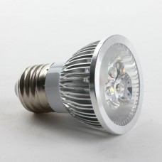 Aluminium Shell E27 6W LED Spot Light Bulbs Lamp Cool White LED Light AC85-265V 460lm 6000k