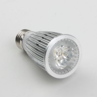 Aluminium Shell E27 9W LED Spot Light Bulbs Lamp Warm White LED Light AC85-265V 420lm 3000k