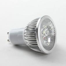 Round GU10 3W LED Spot Light Bulbs Lamp Cool White LED Light AC85-265V 270lm 6000k