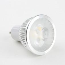 Round GU10 3W Diammable LED Spot Light Bulbs Lamp Warm White LED Light AC85-265V 270lm 3000k