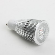 GU10 9W LED Spot Light Bulbs Lamp Warm White LED Light AC85-265V 420lm 3000k Alu Shell