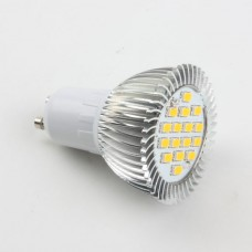 GU10 6W LED 5630 LED Light Bulbs Lamp Warm White LED Light 85-265V 480lm 3000k