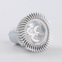 GU10 3W LED Spot Light Bulbs Lamp Warm White LED Light AC85-265V 270lm 3000k Aluminium Shell