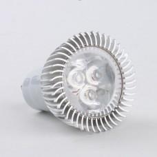 GU10 3W LED Spot Light Bulbs Lamp Warm White LED Light AC85-265V 270lm 3000k Aluminium Shell