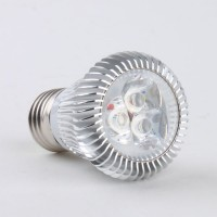 E27 3W LED Spot Light Bulbs Lamp Cool White LED Light AC85-265V 270lm 6000k High Brightness