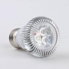 E27 3W LED Spot Light Bulbs Lamp Cool White LED Light AC85-265V 270lm 6000k High Brightness