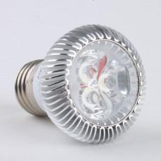 E27 3W LED Spot Light Bulbs Lamp Cool White LED Light AC85-265V 270lm 6000k 120Deg