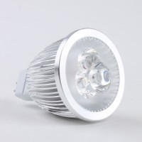 Mr16 3W LED Spot Light Bulbs Lamp Warm White LED Light 12V 270lm 3000k Round