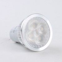High Brightness GU10 4W LED Lamp LED Light Bulbs Lamp Warm White LED Light 85-265V 360lm 3000k