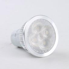 High Brightness GU10 4W LED Lamp LED Light Bulbs Lamp Warm White LED Light 85-265V 360lm 3000k