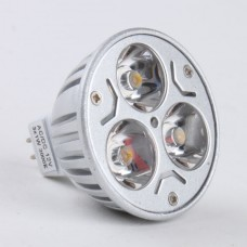 Mr16 3W LED Spot Light Bulbs Lamp Warm White LED Light AC/DC 12V 270lm 3000k