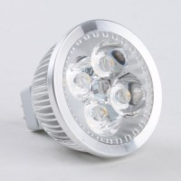Mr16 4W LED Spot Light Bulbs Lamp Warm White LED Light 12V 360lm 3000k Alu Shell