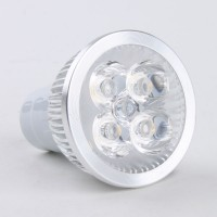 MR16 4W LED Spot Light Bulbs Lamp Warm White LED Light 85-265V 270lm 3000k Alu Shell