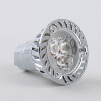 GU10 6W LED Lamp LED Light Bulbs Lamp Warm White LED Light 85-265V 420lm 3000k Alu Shell