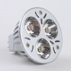 Mr16 3W LED Spot Light Bulbs Lamp Cool White LED Light AC/DC 12V 270lm 6000k