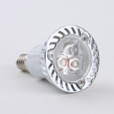 E14 3W LED Spot Light Bulbs Lamp Warm White LED Light AC85-265V 270lm 3000k Round