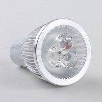 GU10 6W 3LEDs Lamp LED Light Bulbs Lamp Warm White LED Light 85-265V 420lm 3000k