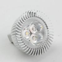 Mr16 3W LED Spot Light Bulbs Lamp Cool White LED Light AC/DC 12V 270lm 6000k Round