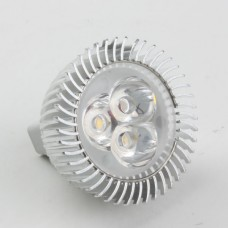 Mr16 3W LED Spot Light Bulbs Lamp Cool White LED Light AC/DC 12V 270lm 6000k Round