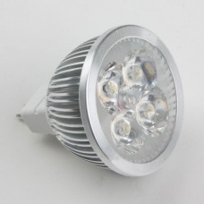 Mr16 4W LED Spot Light Bulbs Lamp Cool White LED Light 12V 360lm 6000k Alu Shell