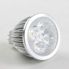 MR16 5W LED Spot Light Bulbs Lamp Cool White LED Light 12V 450lm 6000k Round