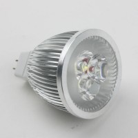 Mr16 6W LED Spot Light Bulbs Lamp Cool White LED Light AC/DC 12V 420lm 6000k Round
