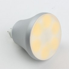 MR16 6W COB LED Spot Light Bulbs Lamp Warm White LED Light 110V 420lm 3000k Round