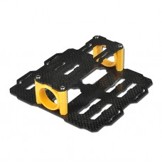 Tarot 25MM Carbon Fiber Dual Battery Mount Set TL80B05