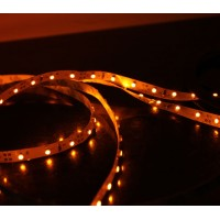 5M 60Led/m 3528 300leds Non-Waterproof SMD LED Strips Bar Lights Flexible LED Strip-Yellow